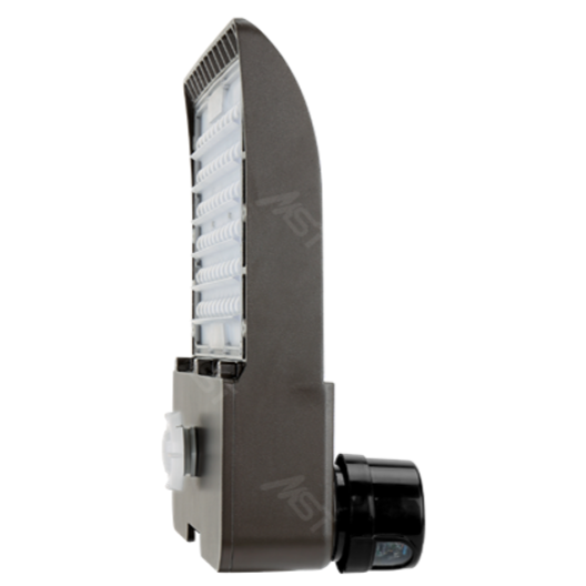 LED Shoebox Area Light 150W 5000K T3 Bronze with Photocell