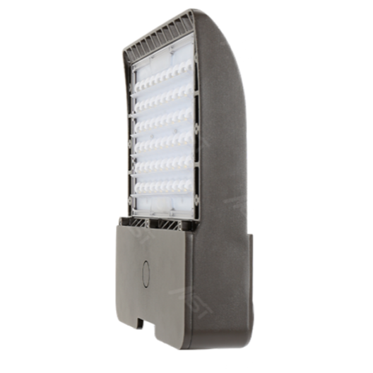LED Shoebox Area Light 150W 5000K T3 Bronze High Volt