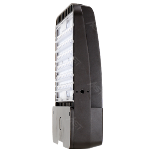 LED Shoebox Area Light 200W 5000K T5 Bronze