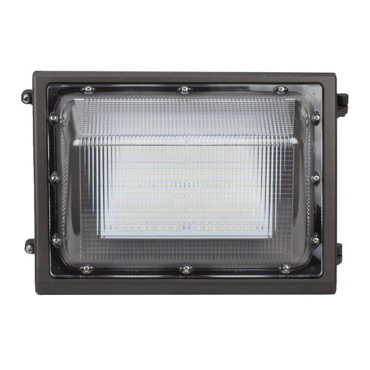 LED Traditional Wall Pack Light 80W 5000K with Photocell