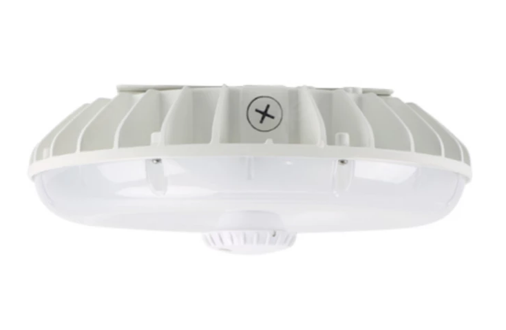 LED Canopy Light 60W 5000K White Frosted Parking Garage Lens Dimmable