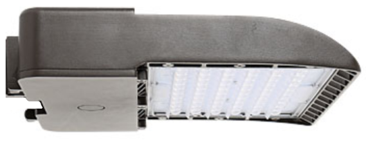 LED Shoebox Area Light 150W 5000K T3 Bronze