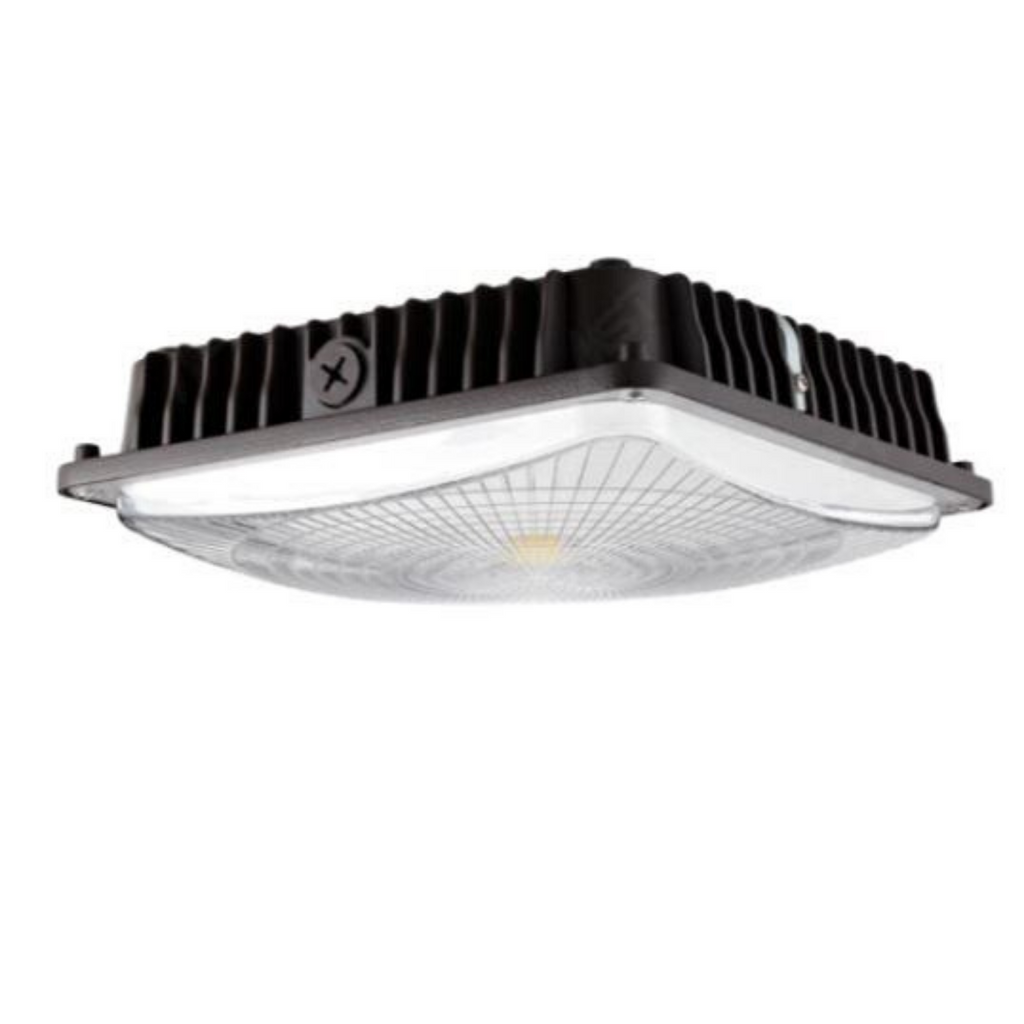 LED Canopy Light 45W 5000K Bronze Clear Lens