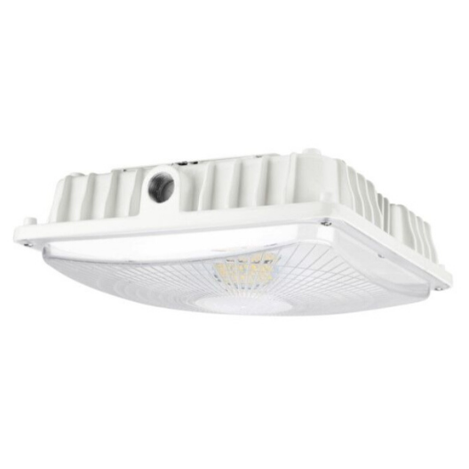 LED Canopy Light 40W 5000K White Clear Lens