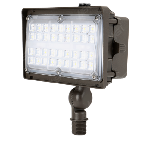 LED Flood Light 15W 5000K Bronze with Knuckle Mount