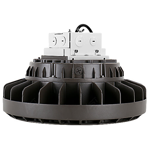 LED Circular High Bay Light 140W 5000K Bronze Dimmable