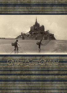 Le Mont Saint-Michel  à la Belle Epoque - Assortiment de 6 cartes postales