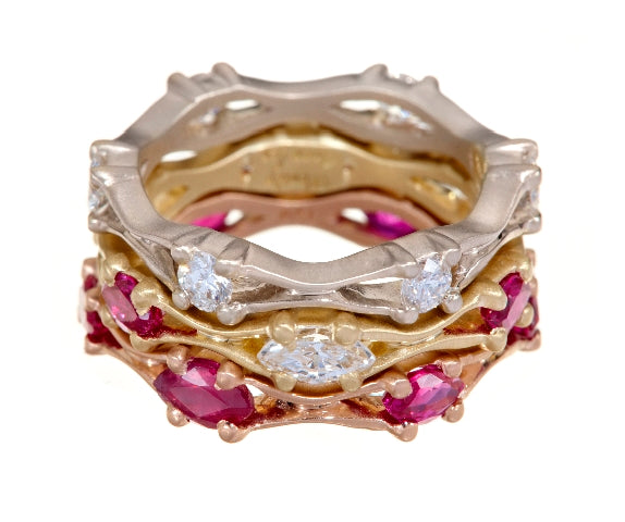 Elizabeth Stacking Rings
