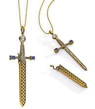 Load image into Gallery viewer, Matilda Sword Necklace