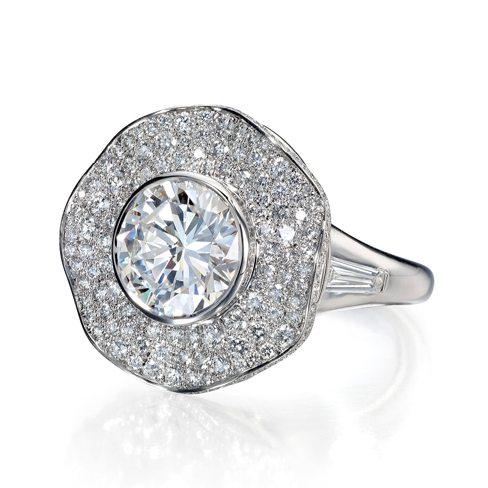 Ballerina-Style Engagement Ring