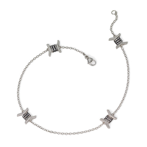 Barbed Wire Anklet