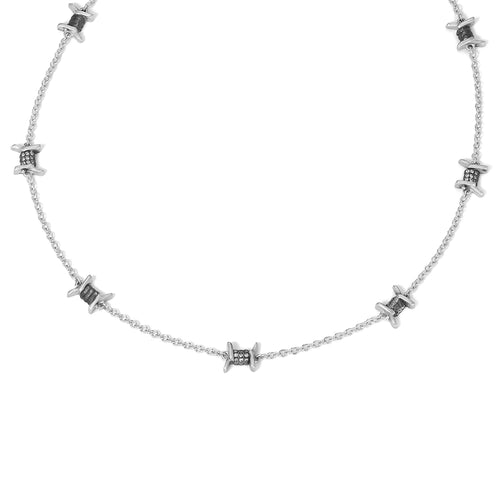 Barbed Wire Necklace - Multi