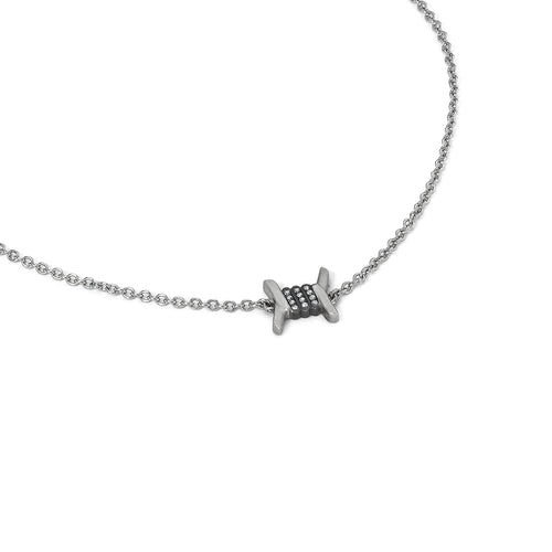 Barbed Wire Necklace - Single