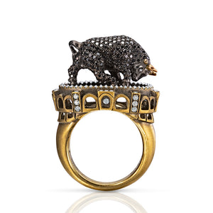 Maneater Ring: Bull and Bullfighter