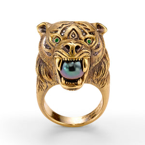 Christine Tiger Ring
