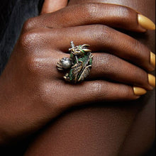 Load image into Gallery viewer, Maneater Ring: Dragon and Knight