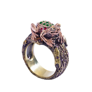 Maneater Ring: Frog and Prince