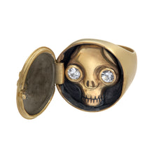 Load image into Gallery viewer, Juana Peekaboo Skull Ring