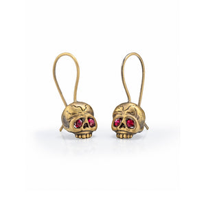 Memento Mori Skull Earrings