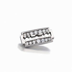 Razor Blade Stud Single Earring