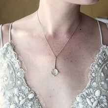Load image into Gallery viewer, Selene Moonstone Necklace