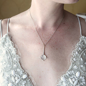 Selene Moonstone Necklace