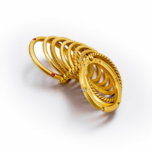 Siobhan Perma-Stacked Ring