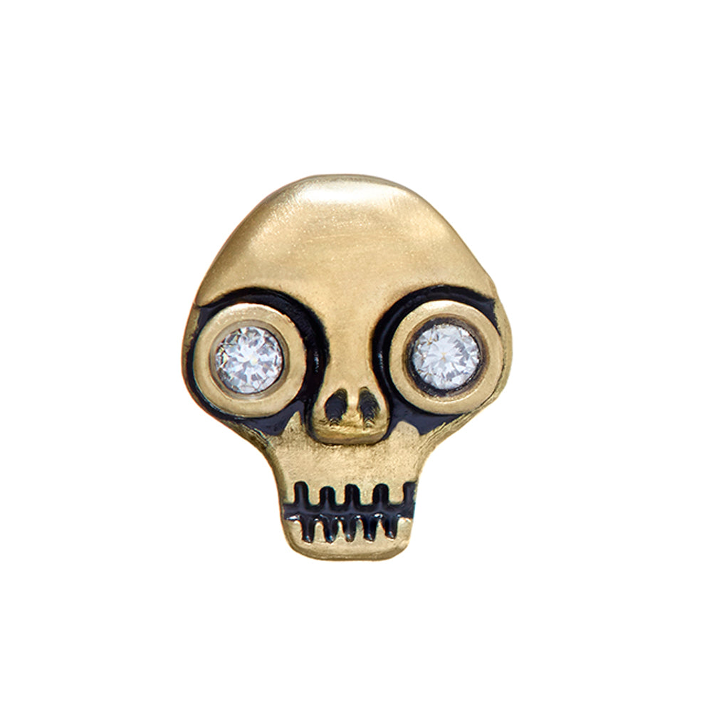 Skull Stud Single Earring