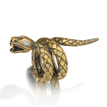 Load image into Gallery viewer, Queen of Scots Snake Ring