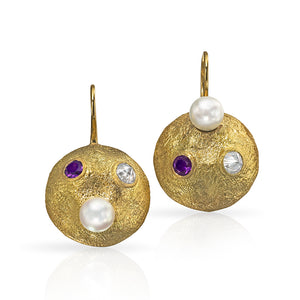 Susan Birthstone Earrings