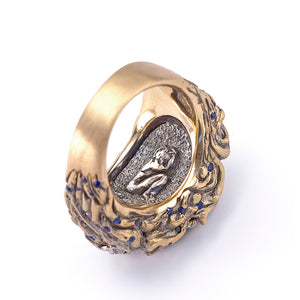 Maneater Ring: Whale and Jonah