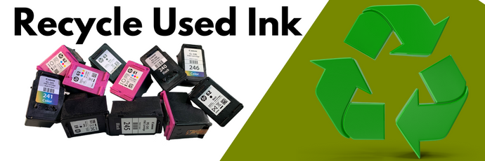 Why You Should Recycle Ink Cartridges