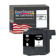 Load image into Gallery viewer, DoorStepInk Remanufactured in the USA Ink Cartridges for Brother LC109BK XXL Super High Yield Black