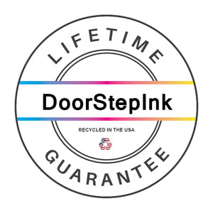 DoorStepInk Remanufactured in the USA Ink Cartridges for Pitney Bowes 787-1 Fluorescent Red