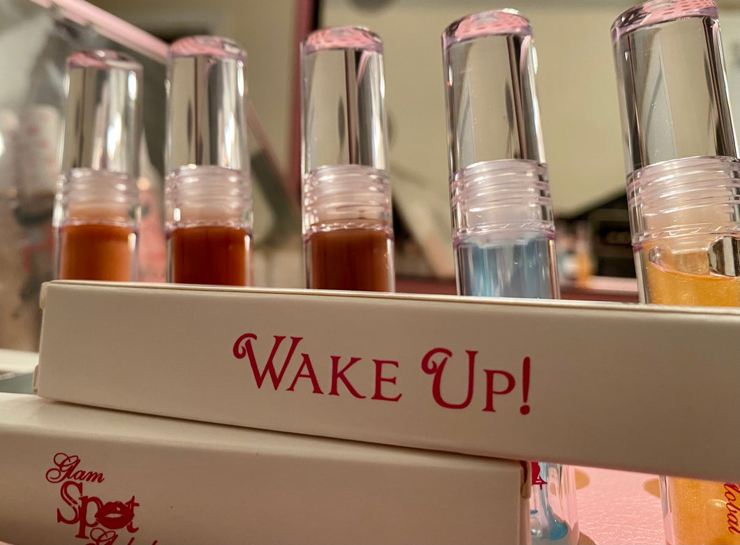 """Wake Up"" lip oil potion"