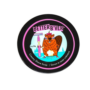 Better Beaver  Creamy Shave Soap
