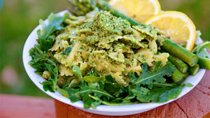 ARUGULA AND ASPARAGUS PESTO Recipe