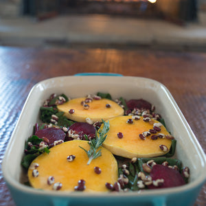 BEET and BUTTERNUT BECHAMEL