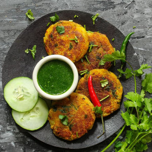 Gina Cucina's Cauliflower Sliders with Cilantro Sauce