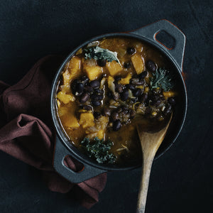 Chipotle Black Bean Butternut Soup