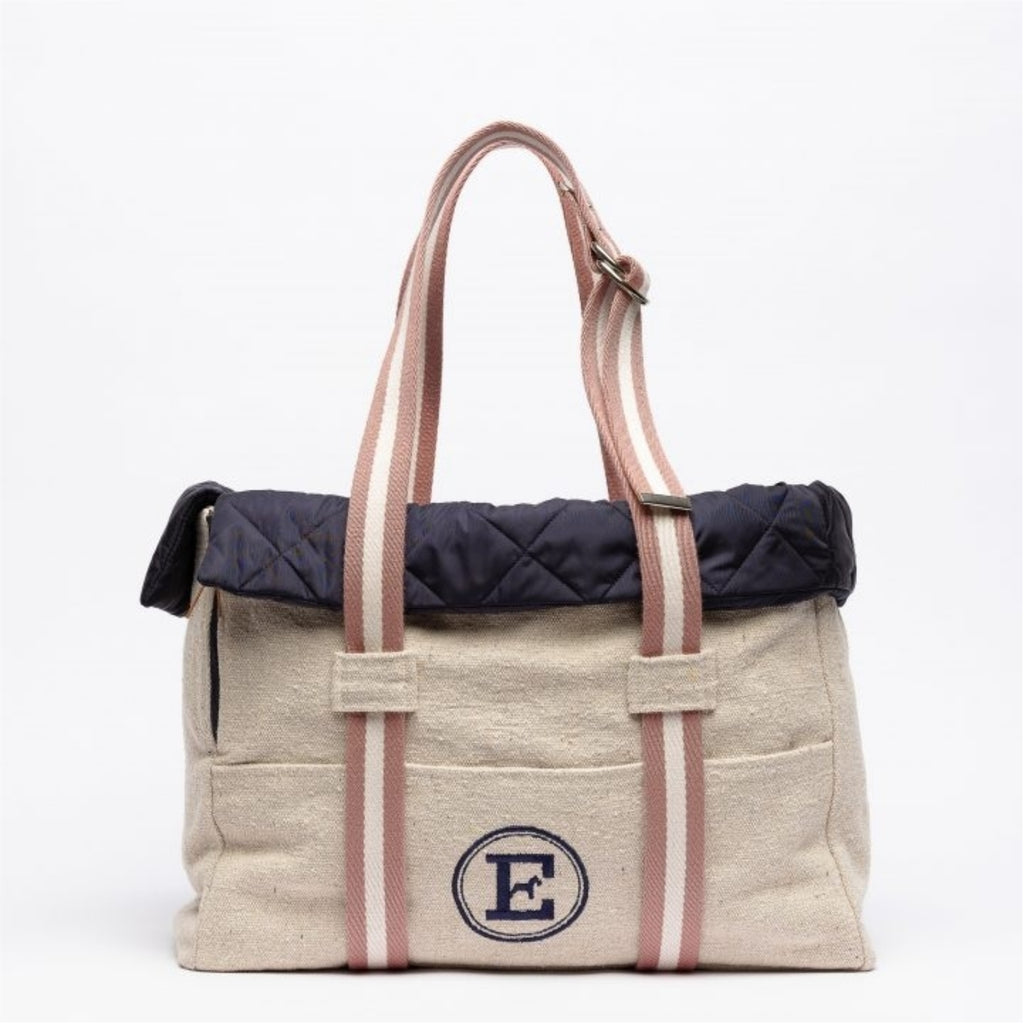 CANVAS hundetaske - navy