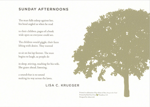 Sunday Afternoon by Lisa Krueger