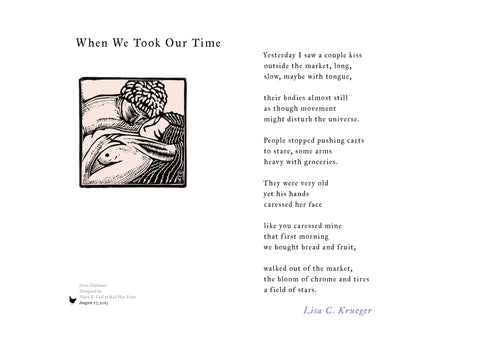 When We Took Our Time by Lisa Krueger