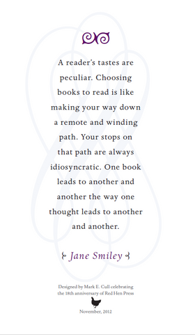 A Reader's Taste Are... by Jane Smiley