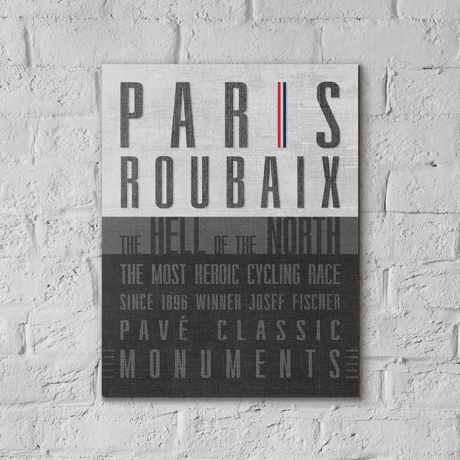Paris Roubaix - Monument Póster