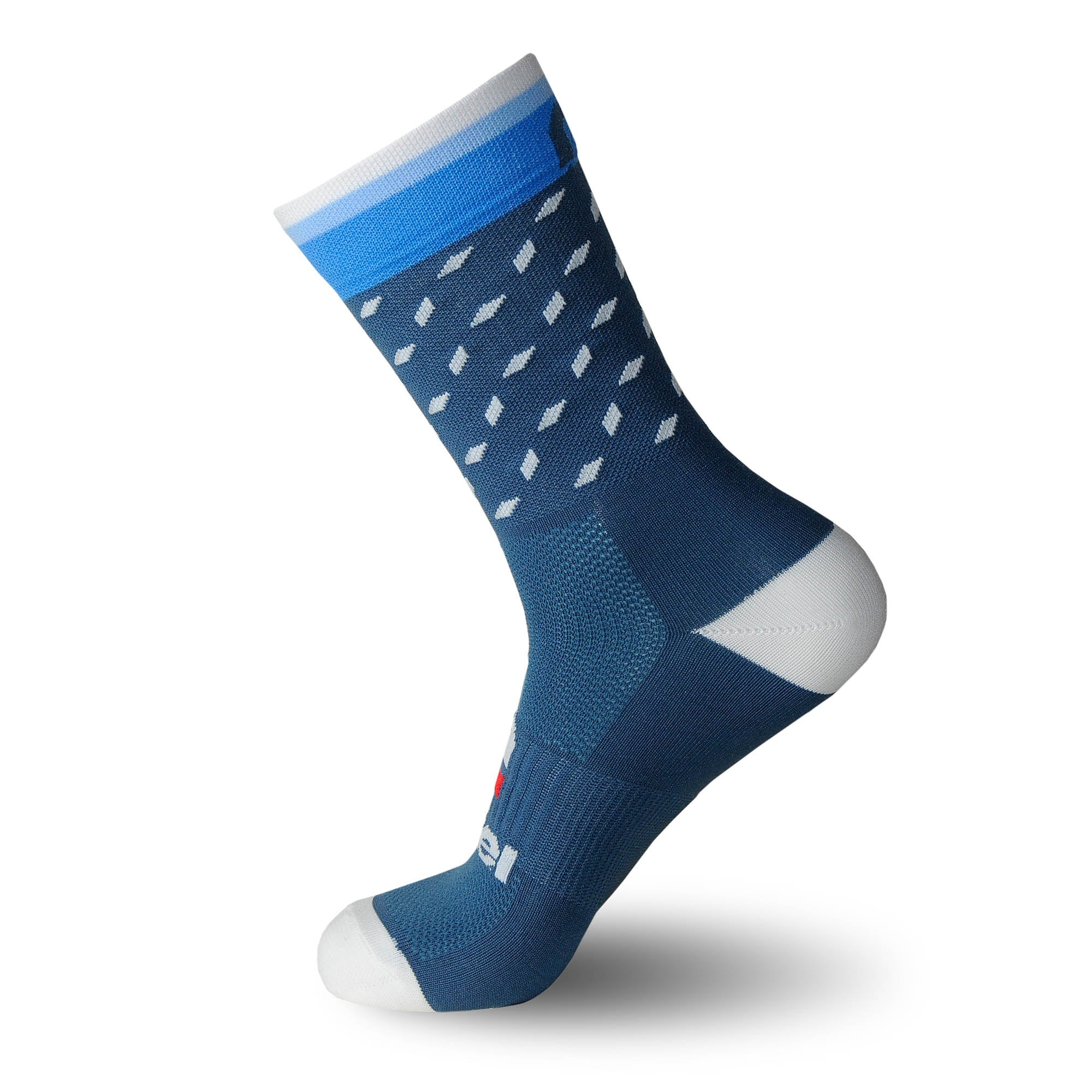 calcetines_divertidos_originales_verano Nortei_Dotty_Dots_Azul_1