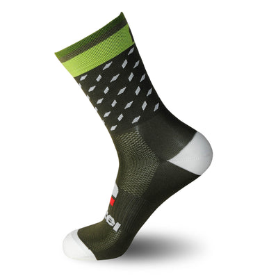 calcetines_divertidos_originales_verano Nortei_Dotty_Dots_Verde_2