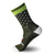 calcetines_divertidos_originales_verano Nortei_Dotty_Dots_Verde_1