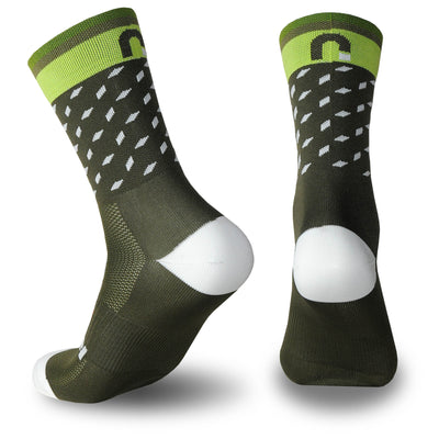 calcetines_divertidos_originales_verano Nortei_Dotty_Dots_Verde_3