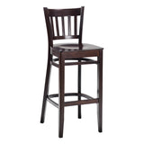 Baker Wood Frame High Stool